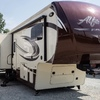 RV for Sale: 2015 ALFA GOLD 3905SH MOTORCYCLE GARAGE