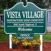 Mobile Home Park for Directory: Vista Village, Pleasantville, IA