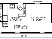 New Mobile Home Model for Sale: Belvidere by Cavco Homes