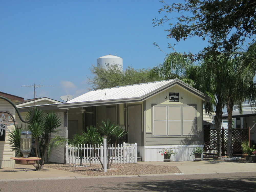 Wagon City N Mission Tx Park Model Lot Rv For Sale In