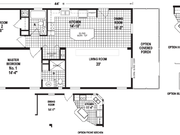 New Mobile Home Model for Sale: Holly Hill by Skyline Homes