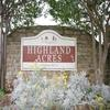 Mobile Home Park: Highland Acres -  Directory, Lewisville, TX
