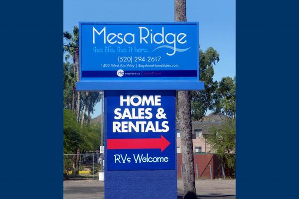 Mesa Ridge MHC - Directory - mobile home park in Tucson, AZ