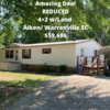 Mobile Home for Sale: REDUCED Awesome Value 4+2 w/Land, Warrenville, SC