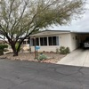 Mobile Home for Sale: Most sought after park in Tucson, Park West! Nice double Wide For sale! 55 and older Community Lot 131, Tucson, AZ