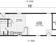 New Mobile Home Model for Sale: Kearney by Champion Home Builders