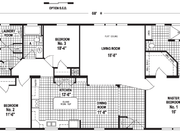 New Mobile Home Model for Sale: Catlin by Skyline Homes