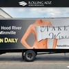 Billboard for Rent: Rolling Adz  Mobile Billboards , Lawrence, KS