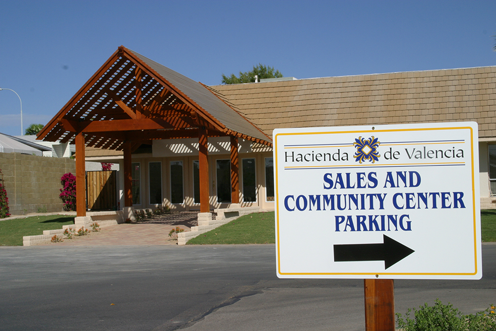 Mobile Home Park In Mesa Az Hacienda De Valencia 476863