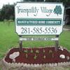 Mobile Home Park for Directory: Tranquility/Alvin Village MHC  -  Directory, Alvin, TX