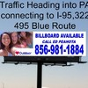 Billboard for Rent: COMMODORE BARRY BRIDGE BULLETIN TO CHESTER PA, Chester, PA