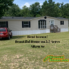 Mobile Home for Sale: REDUCED Rent to own 3+2 on 5.7 Acres!, , SC