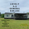 Mobile Home for Sale: Lovely Remodeled  3+2 Doublewide!, Hephzibah, GA