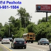 Billboard for Rent: Rt. 42 Southbound Heavy Traffic, Deptford Township, NJ