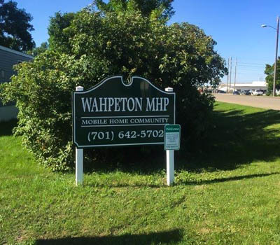 Affordable Mobile Home Community in Wahpeton, ND