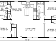New Mobile Home Model for Sale: Brookport by Cavco Homes