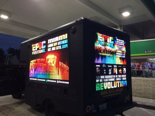 Mobile Led Advertising Truck For Sale Billboard For Sale