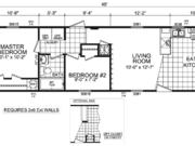 New Mobile Home Model for Sale: Crown Pointe by Champion Home Builders