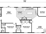 New Mobile Home Model for Sale: Casselton by Champion Home Builders