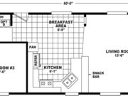 New Mobile Home Model for Sale: Bainbridge by Cavco Homes
