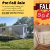 Mobile Home for Sale: The leaves are fall and so are the prices 10k off all homes for limited time only, Robinson, IL