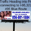 Billboard for Rent:  COMMODORE BARRY BRIDGE DIGITAL TO PA  #104-1, Chester, PA