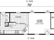New Mobile Home Model for Sale: Barrett by Champion Home Builders