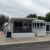 Mobile Home for Sale: Furnished 2 Bed/2 Bath Home With Deck and Pond View, Zephyrhills, FL
