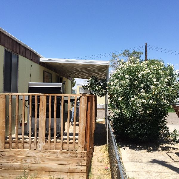 Mobile Home For Sale In Ridgecrest, CA: PRIVATE, SHADY