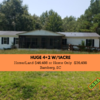 Mobile Home for Sale: Awesome Value HUGE 4+2 on 1 Acre!, Bamberg, SC
