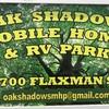 RV Lot for Rent: Oak Shadows Mobile Home and RV Park, Pensacola, FL