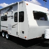 RV for Sale: 2011 MICRO-LITE 18FBRS  SLIDE-OUT  FULL BED  3400 LBS