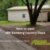 Mobile Home for Sale: Rent to own! 4BR Bamberg Sc Country Oasis, Bamberg, SC