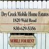 Mobile Home Park for Directory: Dry Creek MHP, New Braunfels, TX