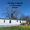 Mobile Home for Sale: 3+2 Handyman Special!, Allendale, SC