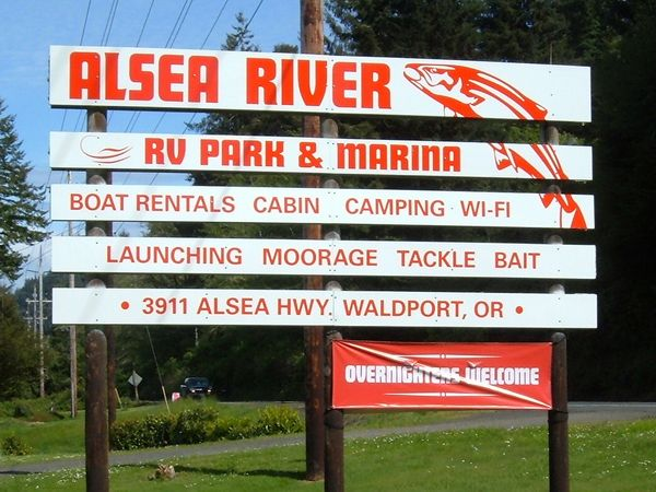 Alsea River Rv Park Amp Marina Rv Park For Sale In