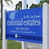 Mobile Home Park: Colonial Estates  -  Directory, Lake Worth, FL