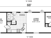 New Mobile Home Model for Sale: Aster by Champion Home Builders