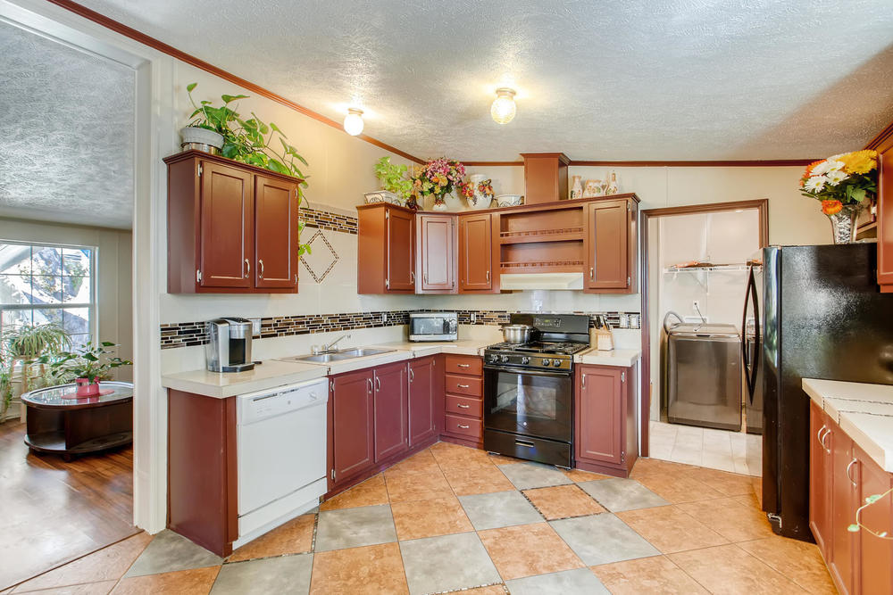 FOR SALE 3 BEDROOM 2 BATH MANUFACTURED HOME! - mobile home ...