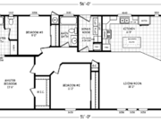 New Mobile Home Model for Sale: Bonito by Cavco Homes