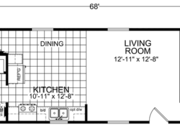 New Mobile Home Model for Sale: Weiland by Champion Home Builders
