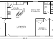 New Mobile Home Model for Sale: Evergreen by Cavco Homes