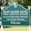 Mobile Home Park for Directory: Pratt Country Estates MH and RV Park, Pratt, KS
