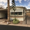 Mobile Home for Sale: Come take a look at this Park Model Home in Springhaven at 55+ Community in Mesa! Needs some clean up, look beyond for a fantastic price and Park! Lot N-38, Mesa, AZ