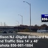 Billboard for Rent: Route 1 Edison NJ Digital Billboard, Edison, NJ