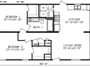 New Mobile Home Model for Sale: McHenry by Cavco Homes