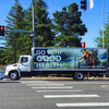 Billboard for Rent: Truck Side Advertising in Little Rock, AR, Little Rock, AR