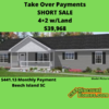 Mobile Home for Sale: Take Over Payments 4+2 Fixer Upper w/Land, , SC