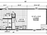 New Mobile Home Model for Sale: Flora by Champion Home Builders