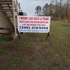 Billboard for Rent: Portable Sign, Arabi, GA